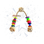 Triple Monkey Fist Foot Toy