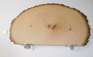Large Thin Cut Basswood Perch